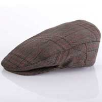 Hooligan Hat by Brixton- Black/Gold Plaid (Sale price!)