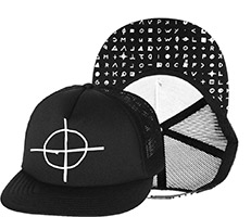 Zodiac Cypher Trucker Hat by Western Evil