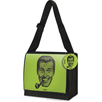 J.R. Bob Dobbs Messenger Bag by Accoutrements