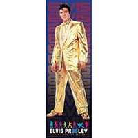 Elvis Presley- Gold Suit Door Poster
