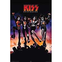 Kiss- Destroyer poster