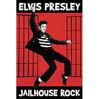 Elvis Presley- Jailhouse Rock poster