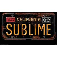 Sublime- California License Plate poster