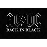 AC/DC- Back In Black poster