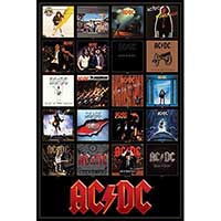 AC/DC- Discography poster