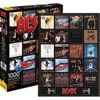 AC/DC- Discography 1000 Piece Puzzle
