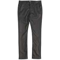 Vegi-Leather Repeat Offenders Needle Fit Vinyl Jeans by Lip Service - SALE