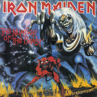 Iron Maiden- The Number Of The Beast LP