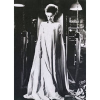 Bride of Frankenstein - Elsa Lanchester full body- She's Alive- Fine Art Print by Annex