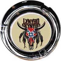 Lynyrd Skynyrd- Cow Skull Ashtray (Glass)
