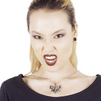Bast Cat Goddess Stainless Steel Necklace from Killstar - SALE