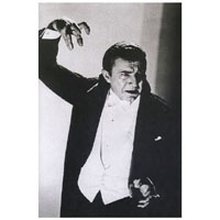 Bela Lugosi -Hand Raised Above Head -Blood Sucker-  Fine Art Print by Annex