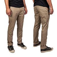Grain Slim Fit Chino Pants by Brixton- KHAKI - SALE sz 28 only