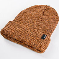 Heist Beanie by Brixton- ATHLETIC ORANGE / BROWN