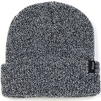 Heist Beanie by Brixton- BLACK / GREY HEATHER