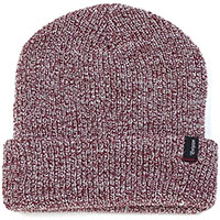 Heist Beanie by Brixton- BURGUNDY HEATHER