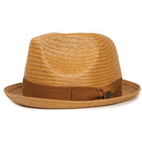 Castor Straw Hat by Brixton- Copper (Sale price!)