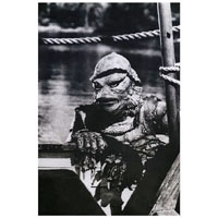 From the Depths Creature of the Black Lagoon Fine Art Print by Annex