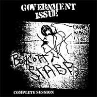Government Issue- Boycott Stabb Complete Session LP