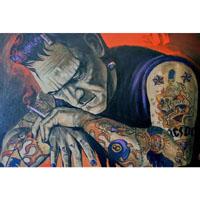 Heartbreaker Frankenstein Mike Bell -  Fine Art Print