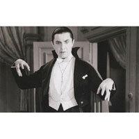 Bela Lugosi -The Hunger- Gazing Upon His Victim -Fine Art Print by Annex