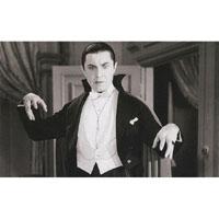Bela Lugosi -The Hunger- Gazing Upon His Victim -Fine Art Print by Annex