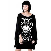 Idol Kimono Dress by Killstar - SALE sz XS, S, & M only