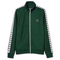 Fred Perry Laurel Track Jacket- IVY (Sale price!)