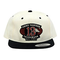 The Gas Tank Flat Bill Snap Back Hat by Lucky 13