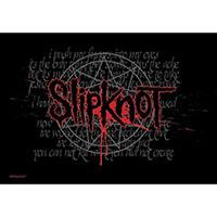 Slipknot- Splattered Logo Fabric Poster