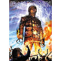 Iron Maiden- Wicker Man Fabric Poster/Wall Tapestry