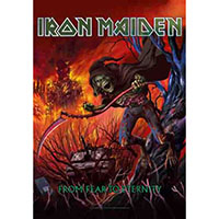 Iron Maiden- From Fear To Eternity Fabric Poster/Wall Tapestry