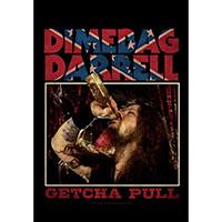 Dimebag Darrel- Getcha Pull Fabric Poster (Pantera)