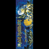 Iron Maiden- Life After Death Fabric Door Poster