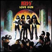 Kiss- Love Gun magnet