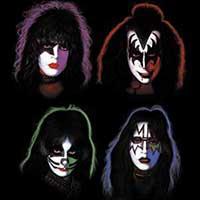 Kiss- Faces magnet