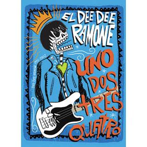 Dee Dee Ramone- Uno Dos Tres Quatro magnet