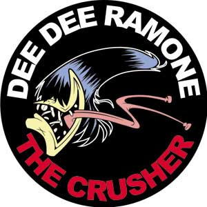 Dee Dee Ramone- The Crusher magnet