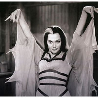 Lily Munster -Monster Mom-  Fine Art Print by Annex