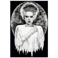 Monsters Bride Shayne of the Dead -  Fine Art Print