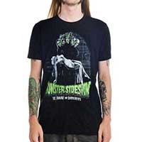 Monster Sideshow on a black guys slim fit shirt by Too Fast Clothing - SALE sz S only