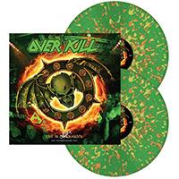 Overkill- Feel The Fire Volume Two: Live In Overhausen 2xLP (Green With Orange And Yellow Splatter Vinyl)