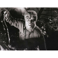 Lon Chaney Jr.-  The Wolfman On the Hunt - Fine Art Print by Annex
