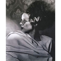 Bride of Frankenstein - Elsa Lanchester Profile- Fine Art Print by Annex