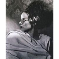 Bride of Frankenstein - Elsa Lanchester Profile- Fine Art Print by Annex