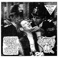 Chaos UK- Short Sharp Shock LP