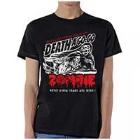 Rob Zombie- Death A Go-Go on a black shirt (Sale price!)