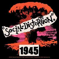 Social Distortion- 1945 sticker (st455)