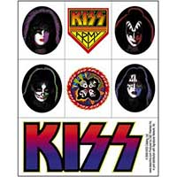 Kiss- 7 Sticker Set (st306)