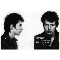 Sid Vicious Mug Shot - Fine Art Print by Annex